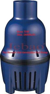New Jebao ELP 16000 L/H 75W only Energy-Saving Fish Pond Water Movement Pump