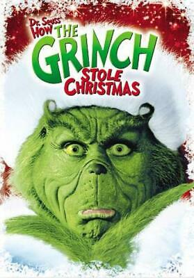 How The Grinch Stole Christmas New Region 1 Dvd