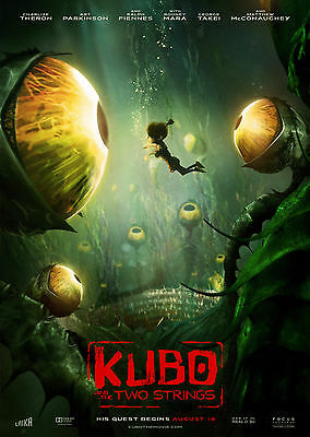 Kubo and the Two Strings (2016) V3 - A1/A2 POSTER **BUY ANY 2 AND GET 1 FREE**