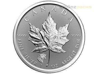 5 $ Dollar Maple Leaf Privy Mark Cougar Kanada 2017 1 oz Silber Reverse Proof