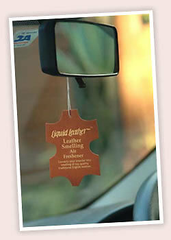 Gliptone Car  Leather Interior Hanging Air Freshener Liquid Leather Fragerance