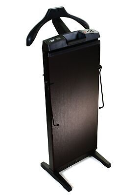The Corby 7700 Trouser Press in Black Ash