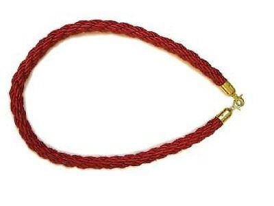 Red Barrier Rope by Corby
