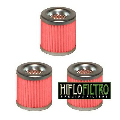 PACK of 3 OIL FILTERS for PIAGGIO VESPA 125 ET4 1996 to 1999
