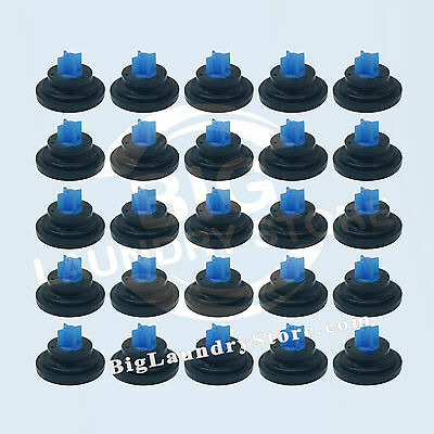 25 Pcs (25x) Blue Tip Diaphragm for Elbi Water Valve, Wascomat, Huebsch # 823492