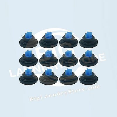 12 Pcs (12x) Blue Tip Diaphragm for Elbi Water Valve, Wascomat # 823492