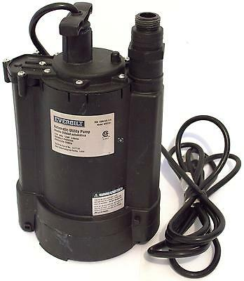 Everbilt 1/3HP Automatic Utility Pump Submersible Water Pump