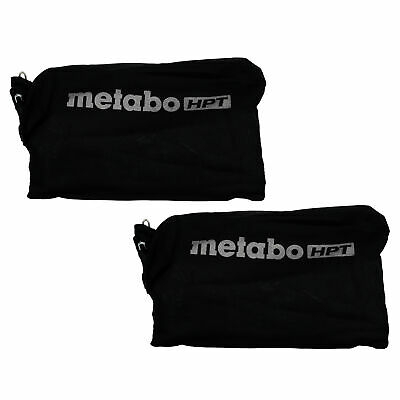 Hitachi 322955 Dust Bag 2PK for Hitachi C10FCH C12FDH C12LDH C10FCE2 C8FC P20ST