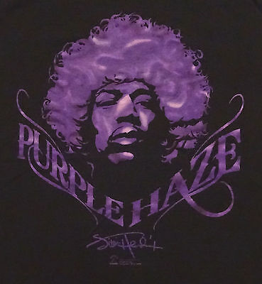 2007 Jimi Hendrix Purple Haze T-shirt Tee Zion Rootswear Size Medium