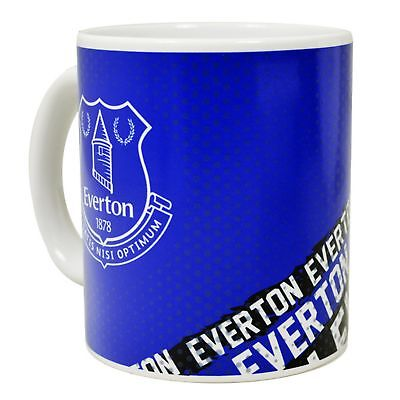 Everton FC Official Impact Football Crest Ceramic Mug