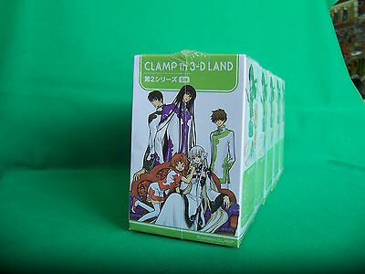 Clamp in 3-D Land Open Pack of 5 Series 2