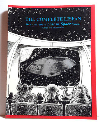 1991 Lost In Space Complete Lisfan 10th  Anniv Softcover Book-196 Pages-FREE S&H