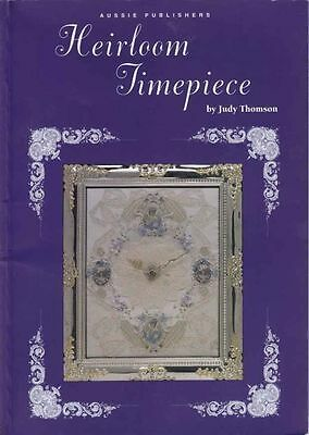 Heirloom Timepiece, by Judy Thomson Embroidery