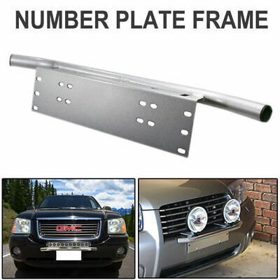 Number Plate Frame Mounting Bracket Holder For Driving Light Bar Mount New Brand