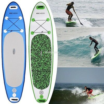 Inflatable Stand Up Paddle Board SUP Package Paddle Folded 37.8 x 14.4 x 2.1inch