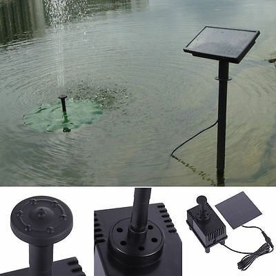 7V 1.5W Solar Fountain Submersible Micro Brushles Water DC Pump Garden Pond Pool