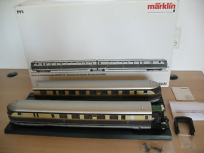 AO508-9# Märklin Sp 1 Fast railcar SVT 137 DRG; 55137 mfx/Digital/ Sound OVP