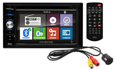 "Boss BVNV9384RC 6.2"" TOUCHSCREEN Car CD/DVD Player Bluetooth+Backup Camera+GPS"