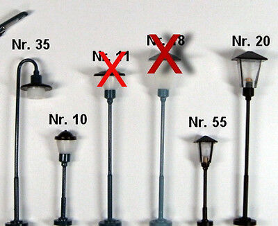 Lamps, Lights, Lanterns for Your TT Model Railway Each 9,99