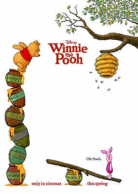 Winnie The Pooh (2011) V2 - A1/A2 POSTER **BUY ANY 2 AND GET 1 FREE OFFER**