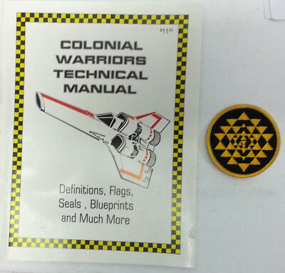 Battlestar Galactica Colonial Warrior Technical Manual-136 Pages-UNREAD-FREE S&H