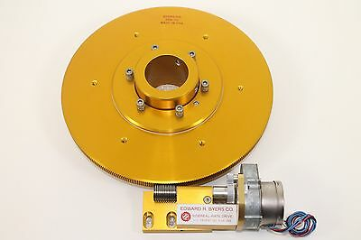 "NEW BYERS 10"" 359-th Drive, Spring-loaded worm/motor assembly  - 2"" Clutch"