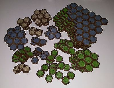 HEROSCAPE - complete set of LAND TILES from RISE OF THE VALKYRIE master set