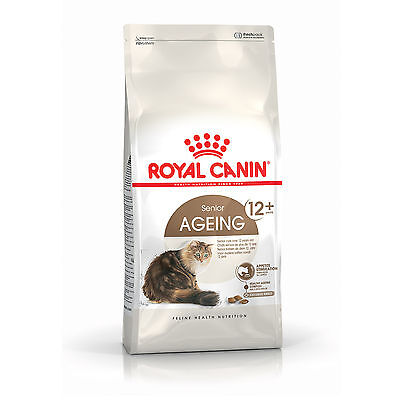 Croquettes pour chats Royal Canin Ageing +12 Sac 4 kg