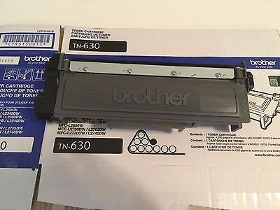Empty Brother Tn 630 Toner Cartridge Never Refilled