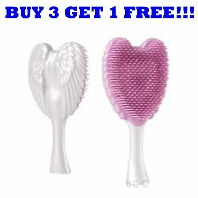Tangle Angel Cherub Brush White Pink