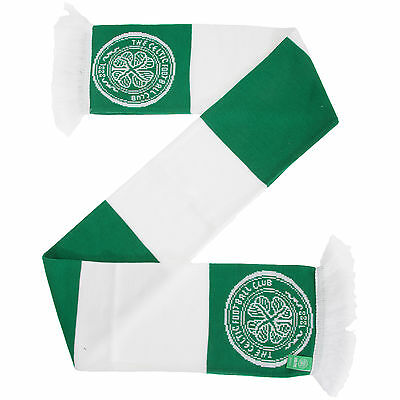 Celtic FC Official Football Supporters Crest/Logo Bar Scarf UTSG2939