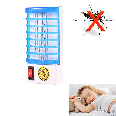 LED Socket Multifunction Mosquito Trap Bug Fly Insect Killer Night Lamp Zapper
