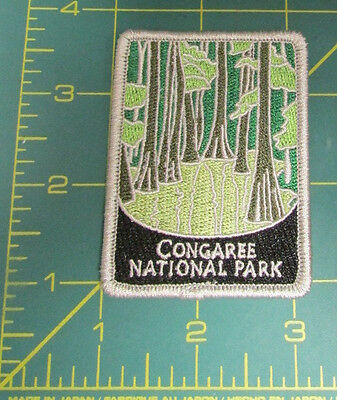 New Traveler Series Patch Congaree National Park South Carolina Embroidered
