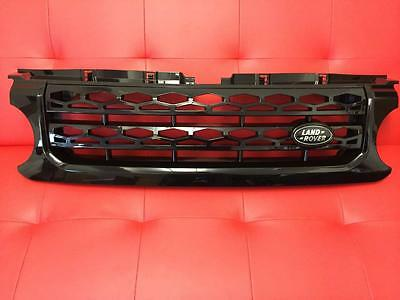 Land Rover Discovery 4 Gloss Black Front Grille - New 2016 Style - For Disco 4