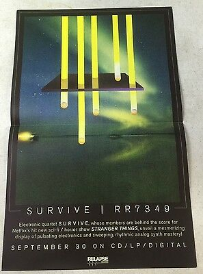 "Survive - RR7349 11"" x 17"" Official Promo Poster * Limited"