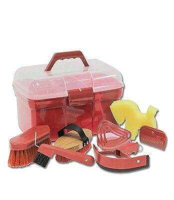 Waldhausen Complete Grooming Box (Red)