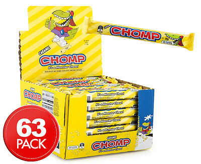 63 x Cadbury Chomp Bars 30g