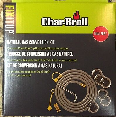 Char-Broil Commercial Series Natural Gas Conversion Kit - 4984619 free shipping