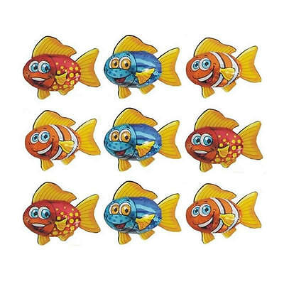 100 Milk Chocolate Fish - ''under The Sea'' Kids Birthday Theme Party Candy Bar