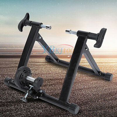 Indoor Magnetic Bicycle Trainer Bike Training Cycling Stand Unisex Exercise Gym