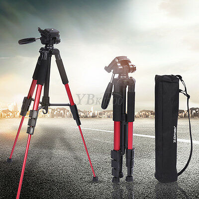 Zomei Q111 Aluminum Tripod Camcorder Stand With Travel Carry Bag For DSLR Camera