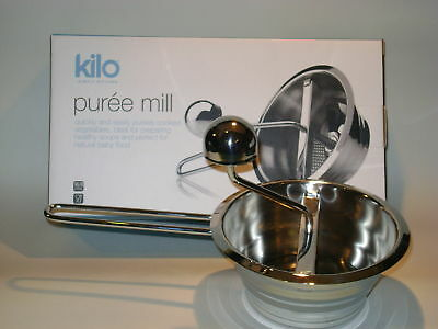 New CKS Kilo Stainless Steel Baby Mouli Food Blender Puree Mill HA49