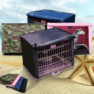 """Pet Dog Cat Crate Cage Kennel COVER Breathable Waterproof Windproof 18""""-36"""" S-XL"""
