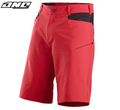 ONE INDUSTRIES ATOM MTB BIKE SHORTS RED cycling trail riding mens