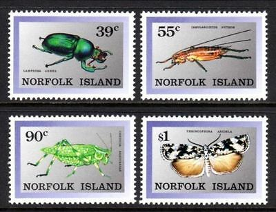 Norfolk 1989 Endermic Insects  MNH