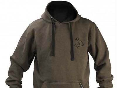 Brand New 2017 Avid Carp Olive Green Hoodie Hoody - All Sizes Available