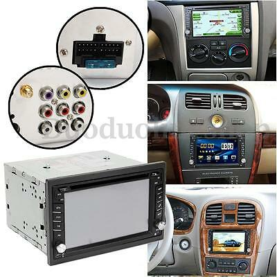 Autoradio GPS 2 DIN 6.2 INCH DVD USB SD MP3 TV AM FM Stereo Bluetooth + Camera