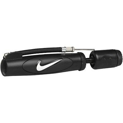 Nike Double Action Pump Football Rugby Ball Black New Hand Pump Sports Gym