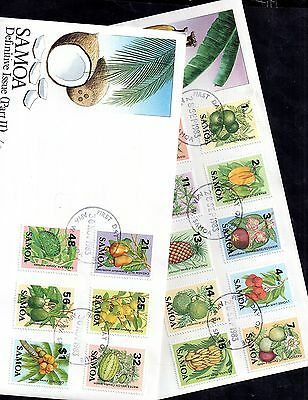 Samoa 1983 Definitives Part 1 & 2 First Day Covers (2) WS1666