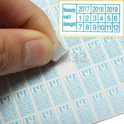 600x 2017-2019 Warranty Void If Damaged Protection Security Label Sticker Seal